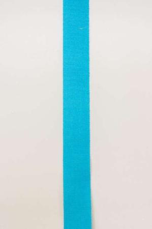 Lyseblåt dekorationsbånd fra Sae Il. Bredt bånd til dekorationer og gaver.