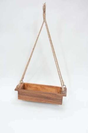 Hængende trækasse UNIKA ib laursen. Hængende kasse til planter og dekorationer