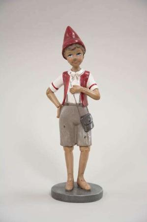 Nostalgisk pinocchio figur