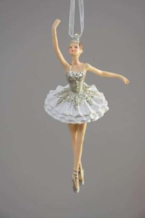 Ballerinaer til ophæng. Elegant ballerina-figur ornament. Julepynt 2020.