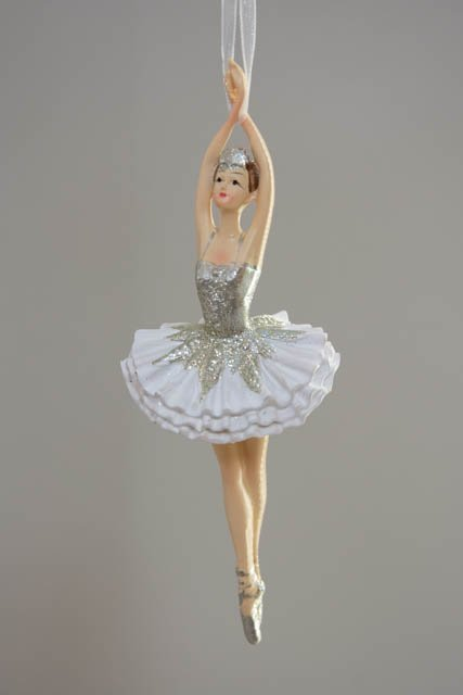 Ballerinaer til ophæng. Elegant ballerina-figur. Julepynt 2020.