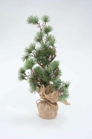 Cedertræ med jutefod fra ib laursen. Dekorationstræ