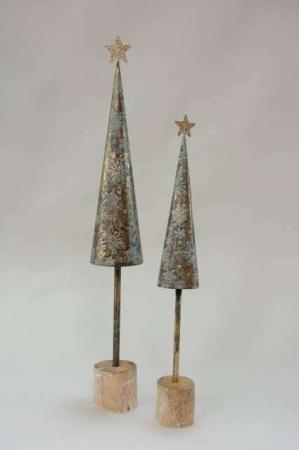 Deko juletræer af jern
