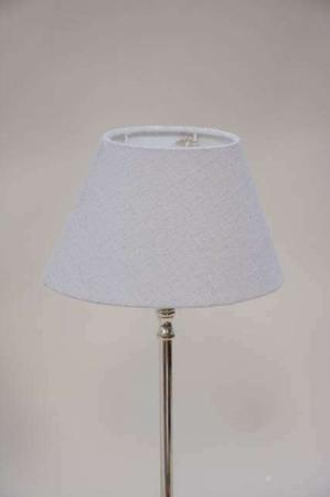 Grå lampeskærm fra Lene Bjerre - oval