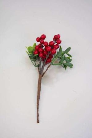 Kunstig rød bærkvist