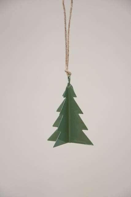 Juletræspynt - grønt juletræ