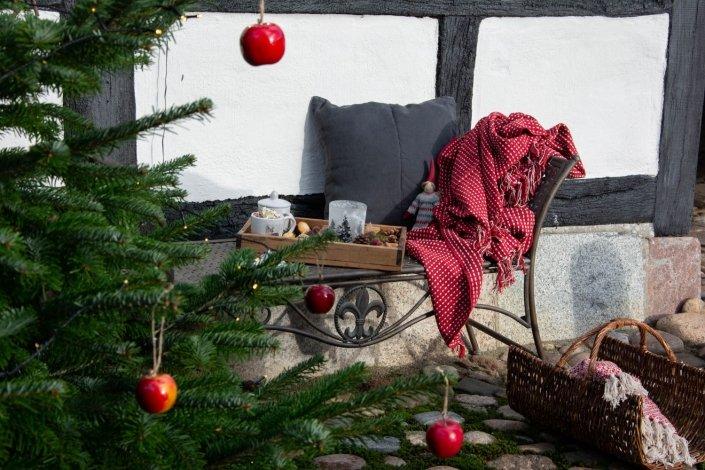 Udendørs julehygge i en corona tid - udendørs julepynt