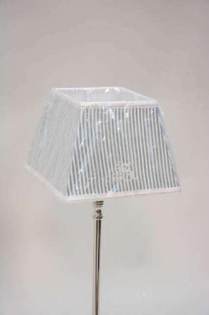 Grøn stribet lampeskærm fra Lene Bjerre