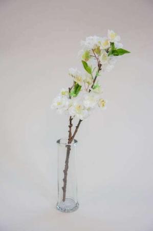 Kunstig hvid kirsebærkvist