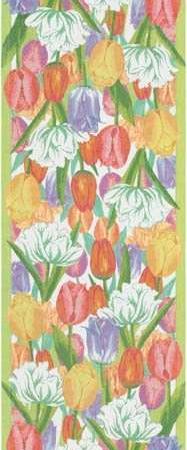 Påske bordløber fra Ekelund med motiv af tulipaner - vårtulpaner