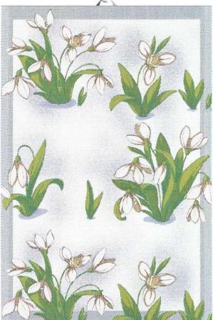 Påske håndklæde fra Ekelund - vintergækker