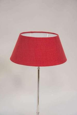 Rød lampeskærm fra Lene Bjerre