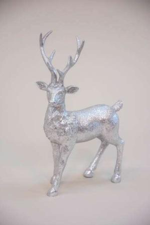 Sølvfarvet hjort