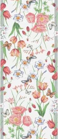 Sommer bordløber fra Ekelund med motiv af blomster og sommerfugle - Vårfröjd