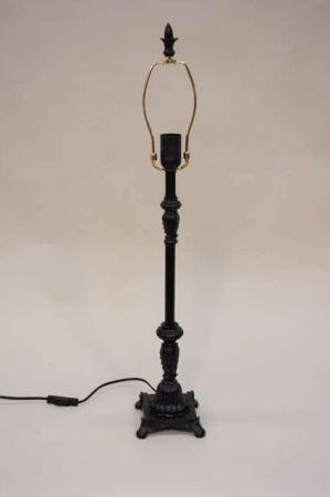 Sort lampefod - bordlampe