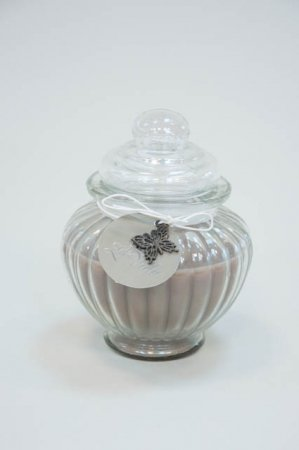 Duftlys i glaskrukke - sand