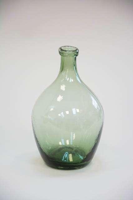 Glasballon - grønt glas