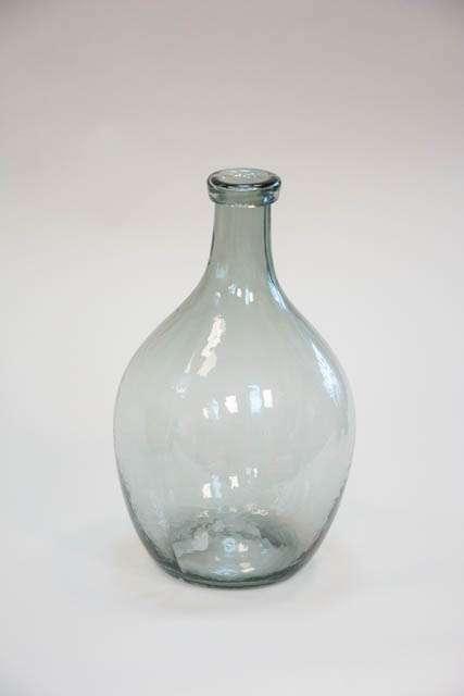 Glasballon - røgfarvet glas
