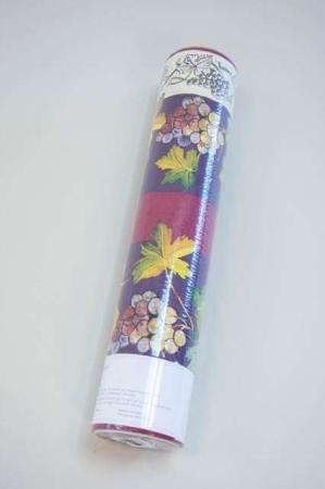 Billig papir bordløber - engangs bordløber - lilla med vinranker