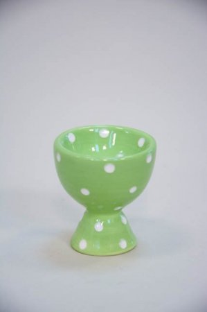 Grønt æggebæger