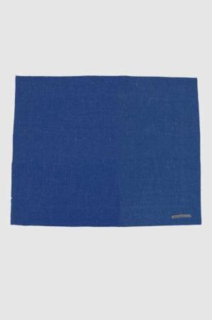 Hør dækkeservietter - blå