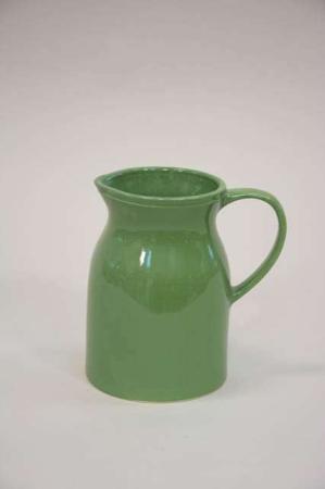 Keramik kande til vand - grøn