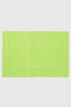 Lysegrønne dækkeservietter fra Lene Bjerre