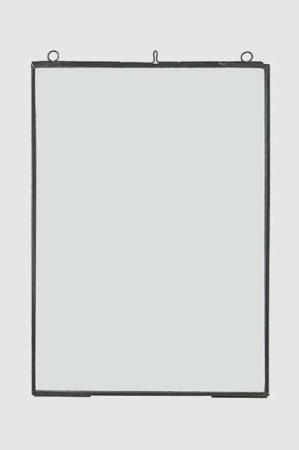 Transparent billedramme med tynd metal kant 21x29,7cm