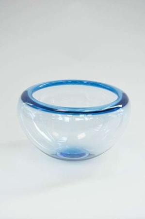 Blå provence skål fra Holmegaard