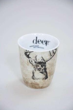 Krus uden hank fra Lene bjerre - woodland collection - deer