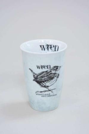 Krus uden hank fra Lene bjerre - woodland collection - gærdesmutte