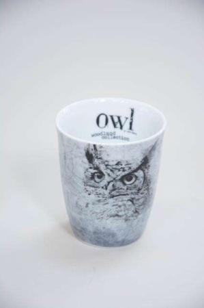 Krus uden hank fra Lene bjerre - woodland collection - owl