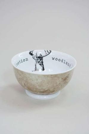 Morgenmadsskål fra Lene Bjerre - woodland collection - deer