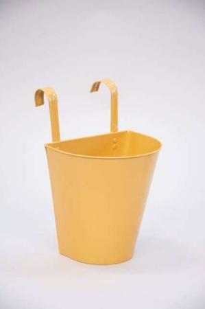urtepotteskjuler til ophæng - gul