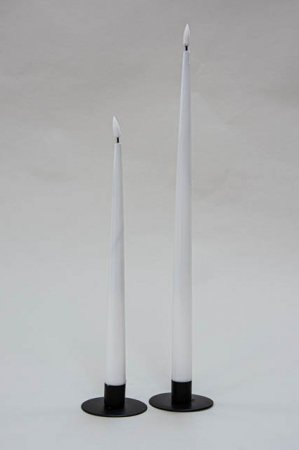 Real Flame stagelys hvid - Real Fllame LED dinner candle