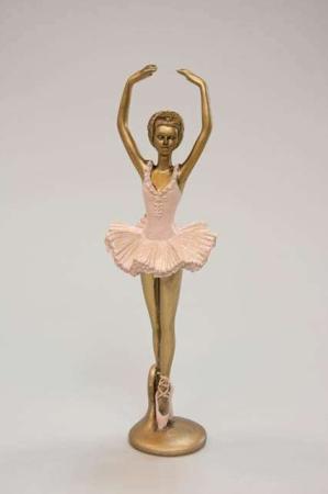 Ballerina med armene oppe - Dansende ballerina