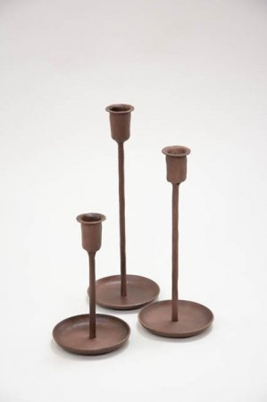 Lysestager metal - Lysestager håndlavet