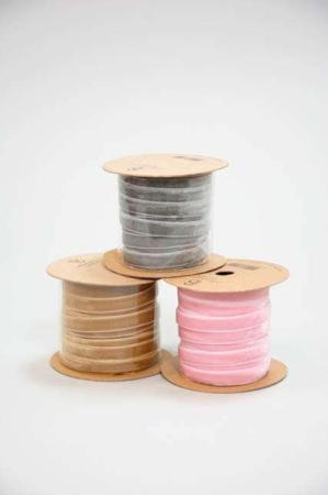 Velourbånd på spole - Bånd til indpakning - Bånd til dekorationer