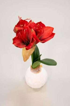 Kunstig Amaryllis - Kunstig blomst