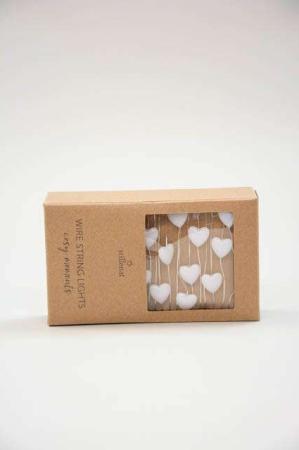 LED lyskæde med hjerter - Lyskæde indendørs - Julepynt 2021