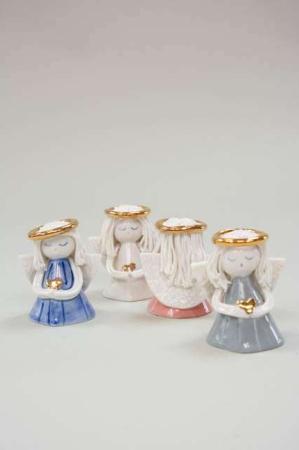 Nääsgränsgården engle - Engle i porcelæn