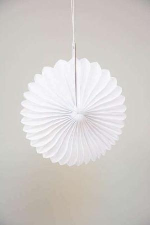 Ornament i papir - Pynt til ophæng i papir - Julepynt 2021