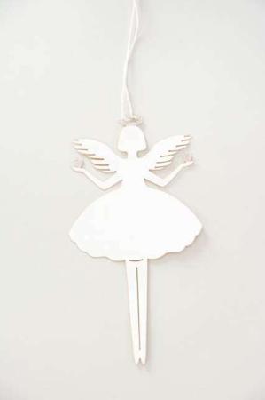 Papirklip engel - Papirklip med glimmer