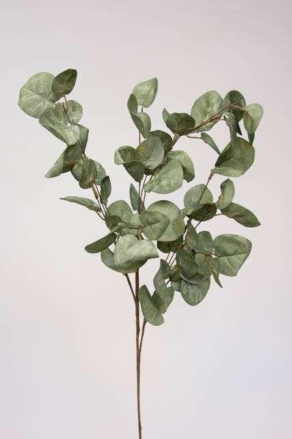 Kunstig gren med blade - Gren med store grønne blade
